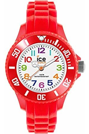Ice-Watch Ice-Mini Children's Size White Dial Colourful Numbers MN.RD.M.S