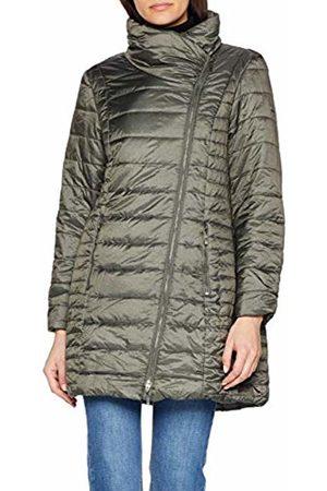 GINA LAURA Women's Steppjacke Stehkragen Bedruckt Jacket