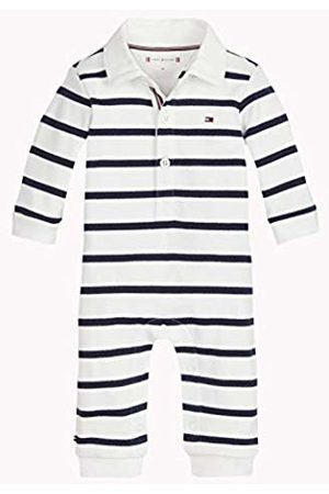 Tommy Hilfiger Baby Rugby Stripe Coverall L/s Footies