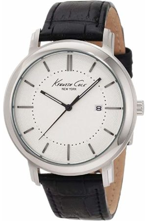 Kenneth Cole Mens Watch KC1651 with Dial and Leather Strap