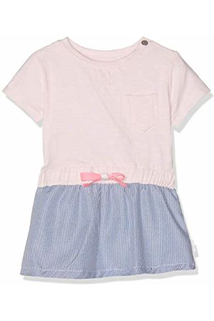 Noppies Baby Girls' G Dress ss Royalton Mehrfarbig (Flamingo P016) 6-9 Months