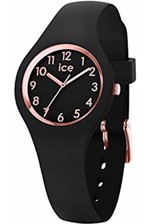 Ice-Watch Ice Glam Rose-Gold - Women's Wristwatch with Silicon Strap - 015344 (Extra Small)
