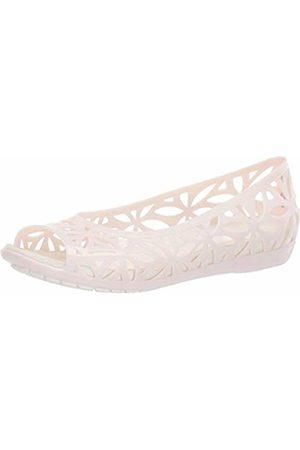 Crocs Women's Isabella Jelly II Flat Women Open Toe Ballet Flats