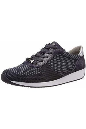 detailed look 2d76d 79c95 Women's Lissabon 1234027 Low-Top Sneakers, Grau, Blau/Silber 08