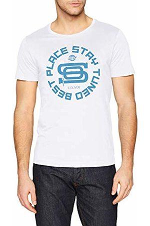 s.Oliver Men's 13.812.32.3878 T-Shirt, ( 0100)