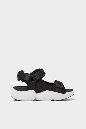 Zara Technical sandals with maxi soles