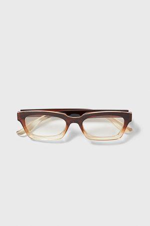Zara Ombré resin glasses