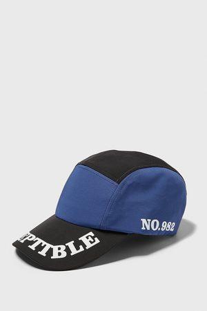 Zara Slogan-printed cycling cap