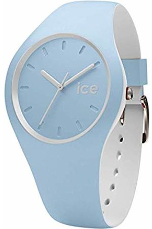 Ice-Watch ICE duo White sage - Men's (Unisex) wristwatch with silicon strap - 001489 (Small)