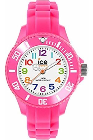 Ice-Watch Ice-Mini Children's Size White Dial Colourful Numbers MN.PK.M.S