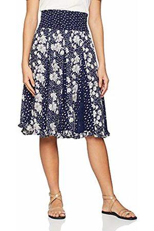 Joe Browns Women's Glamorous Godet Skirt (A - Navy/Cream A) A