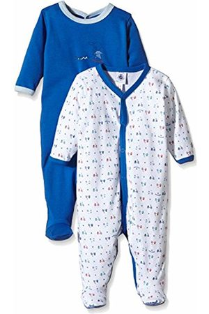 Petit Bateau Unisex Baby Bettinalot Multi-Coloured Long Sleeve Sleepsuit