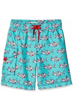 Hatley Boy's Board Shorts Swim, (Snorkeling Shark)