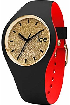 Ice-Watch ICE loulou Gold Glitter - Women's wristwatch with silicon strap - 007228 (Small)