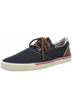 s.Oliver Men's 5-5-13604-22 805 Low-Top Sneakers, (Navy)