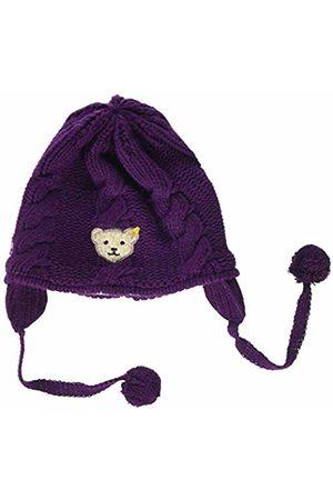 Steiff Baby Girls' Mütze Strick Hat, (Pickled Beet|