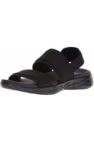 Skechers Women's ON-The-GO 600-FOXY Ankle Strap Sandals, ( BBK)