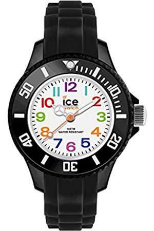Ice-Watch Ice-Mini Children's Size White Dial Colourful Numbers MN.BK.M.S