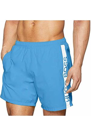 HUGO BOSS Men's Dolphin Swim Trunks, (Bright 431)
