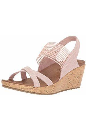 Skechers Women's Beverlee - HIGH Tea Open Toe Sandals, ( Pnk)