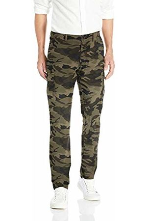 Goodthreads Men's Slim-fit Ripstop Cargo Trouser, Green (Camo Cam)