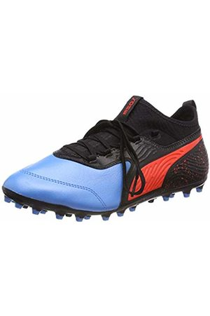 Puma Men's One 19.3 Mg Football Shoes, (Bleu Azur- Blast )