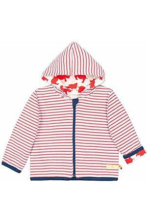 loud + proud Girl's Wendejacke Mit Kapuze, Aus Bio Baumwolle, GOTS Zertiziziert Sweat Jacket