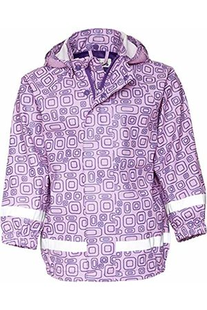 Playshoes Girls' Regen-Mantel Ornament Rain Jacket