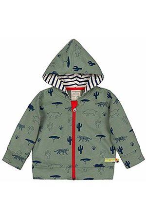 loud + proud Boy's Kapuzenjacke Mit Druck, Aus Bio Baumwolle, GOTS Zertiziziert Sweat Jacket