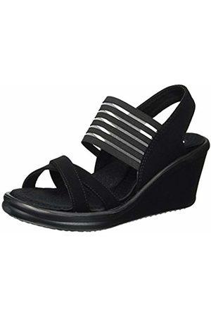 Skechers Women's Rumblers - Solar Burst Open Toe Sandals, ( BBK)