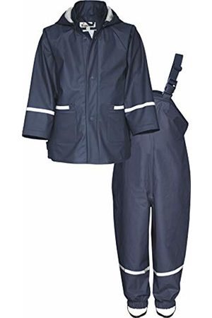 Playshoes Baby Boys' Matschanzug, Regenanzug, Regen-Set Basic Rain Jacket