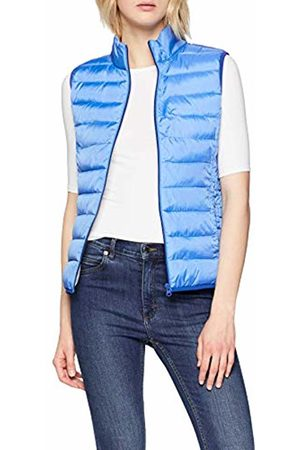 s.Oliver Women's 46.902.53.5917 Outdoor Gilet Blau (Brilliant 5547) L