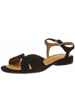 Chie Mihara Women's Vonsai34 Ankle Strap Sandals, (Ante Negro)