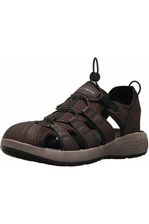 Skechers Men's 51834 Open Toe Sandals, ( Leather/Mesh/ Trim)