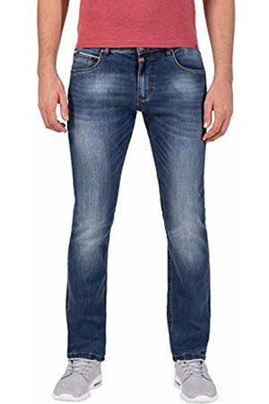Timezone Men's Slim Scotttz Skinny Jeans, (Used Bright wash 3348)