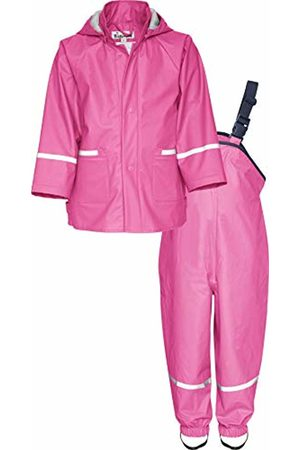 Playshoes Baby Girls' Matschanzug, Regenanzug, Regen-Set Basic Rain Jacket, ( 18)