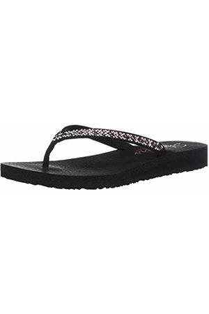 Skechers Women's Meditation-Perfect 10 Open Toe Sandals, (Multicoloured Mlt)
