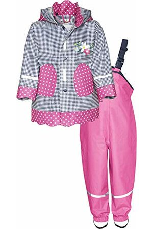 Playshoes Girls' Regenanzug, Regen-Set Landhaus Rain Jacket