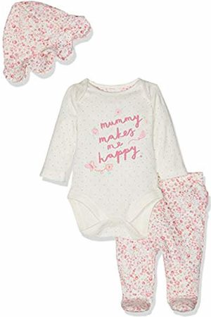 Mothercare Baby Girls' Mummy and Daddy 3-Piece Set Bodysuit, ( 130)