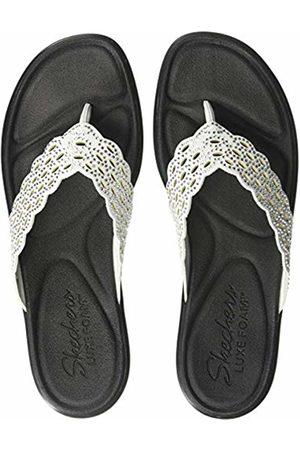 Skechers Women's BUMBLERS Flip Flops, ( Wht)