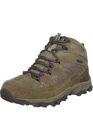 Hi-Tec Women's Meridien Wp Clay/Old Moss/Mulberry Hiking Boot O001682/042/01 7 UK, 40 EU