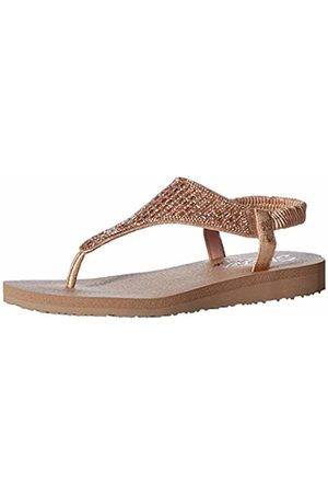 Skechers Women's Meditation-Rock Crown Ankle Strap Sandals