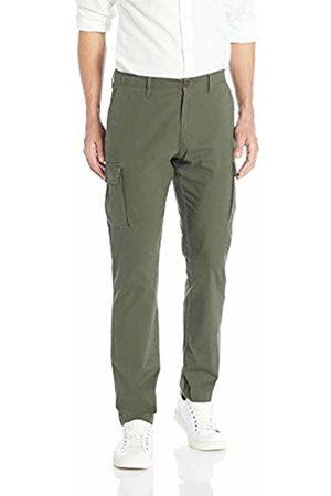 Goodthreads Men's Slim-fit Ripstop Cargo Trouser, (Olive Oli)