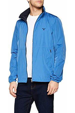 GANT Men's O1. The Wind Shielder Jacket, (Poseidon 448)