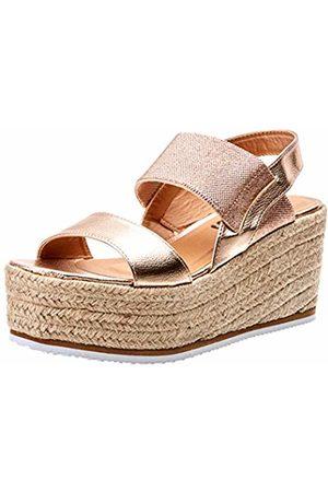 Refresh Women's 69736 Platform Sandals, Nude