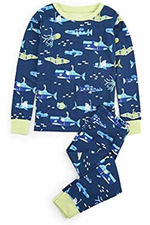 Hatley Boy's Organic Cotton Long Sleeve Printed Pyjama Sets