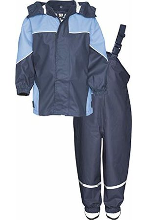 Playshoes Baby Boys' Regenanzug, Matschanzug, Regen-Set 2-Farbig Rain Jacket