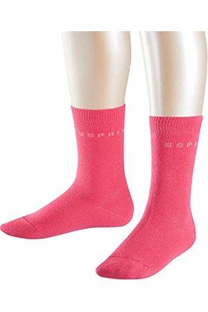 Esprit Kids Foot Logo 2-Pack socks, 2 pairs, UK size 12-2.5 (EU 31-34), , cotton mix - Skin friendly cotton, reinforced stress zones