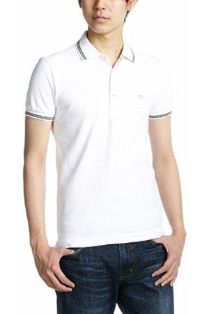 GAS Jeans Men's Ralph/s 3 Polo Shirt, ( 0001)