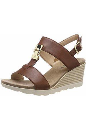 Caprice Women Sandals - Women's Elena Ankle Strap Sandals